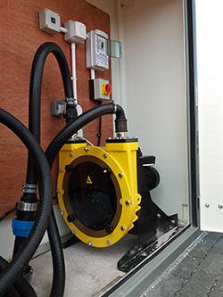 Peristlatic Hose Pump for Sewage