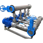 Skid mounted pumping system