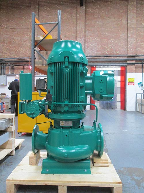 Vertical Inline Pump for Ballast Water