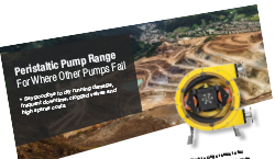 Peristaltic Pump Range Overview