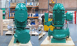 Ballast Water System Upgrade - Vertical Inline Centrifugal Pumps