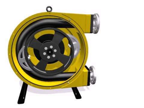 Shoe Operated Peristlatic Pump