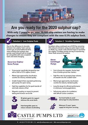 Sulphur Cap Pumps