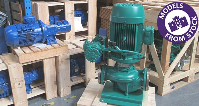 Pumps from stock