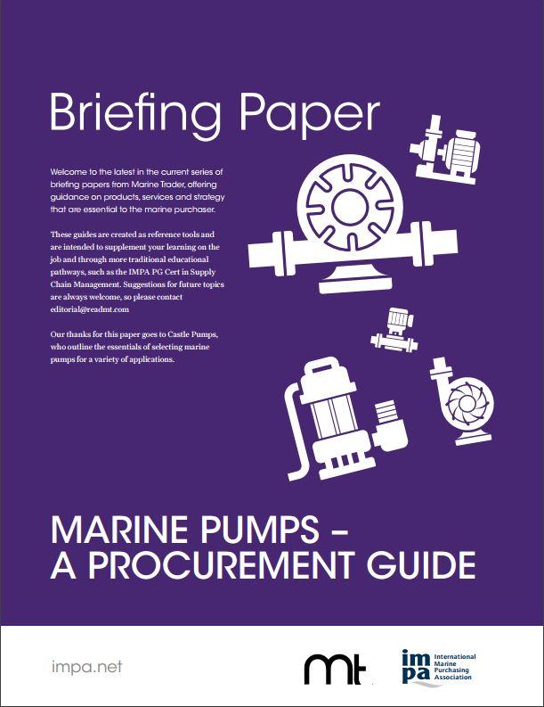 Marine Pump Procurement Guide