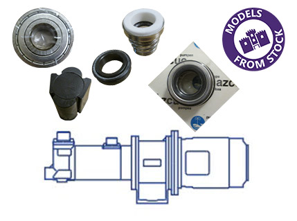 Azcue BT-HH Pump Spare Parts