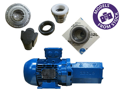 Azcue BT-MB Pump Spare Parts
