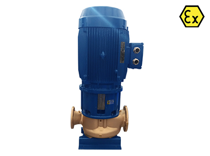 Azcue VM & VR VP/EP ATEX Self Priming Vertical Inline Centrifugal Pump