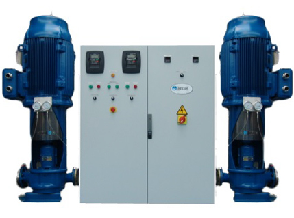 Azcue Pumps with Frequency Converter