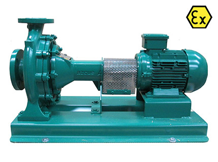 Azcue AN ATEX Long Coupled Centrifugal Pump