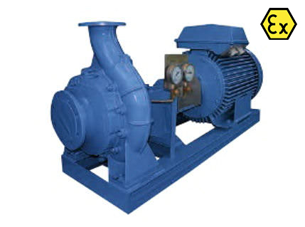 Azcue BOB ATEX Long Coupled Centrifugal Pump