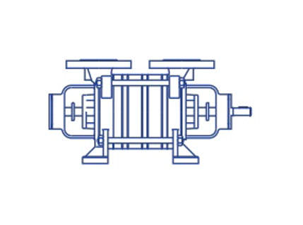 Azcue BR-RR Long Coupled Side Channel Pump