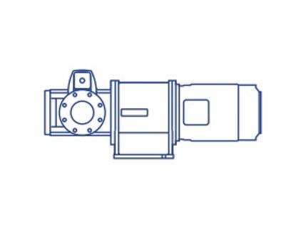 Azcue BT-LH High Flow Self Priming Triple Screw Pump