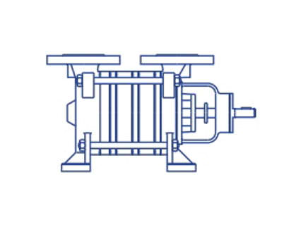 Bombas Azcue BR Self Priming Long Coupled Side Channel Pump
