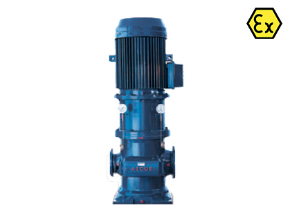 Azcue BT-DF/DG ATEX Long Coupled Triple Screw Pump