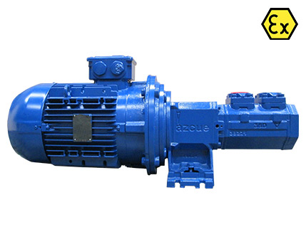 Azcue BT-HM ATEX Spacer Coupled Triple Screw Pump