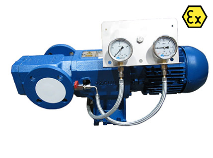 Azcue BT-IL ATEX Spacer Coupled Triple Screw Pump