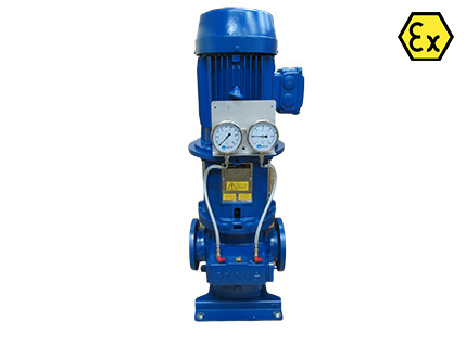 Azcue BT-LV ATEX Long Coupled Triple Screw Pump