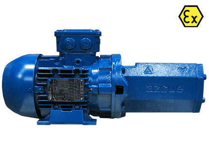 Azcue BT-MB ATEX Close Coupled Triple Screw Pump