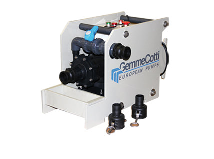 Gemmecotti H-IBC Portable Centrifugal Magnetic Drive Pump