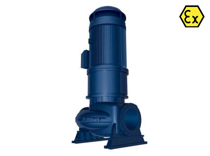 Azcue LD ATEX Vertical Split Casing Centrifugal Pump