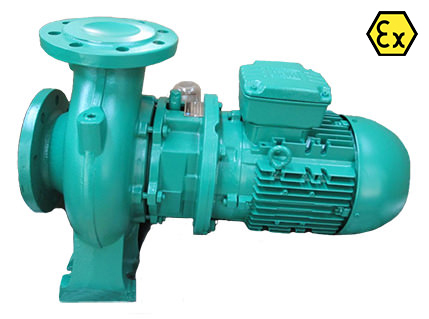Azcue VRX ATEX Vortex Impeller Close Coupled Centrifugal Pump